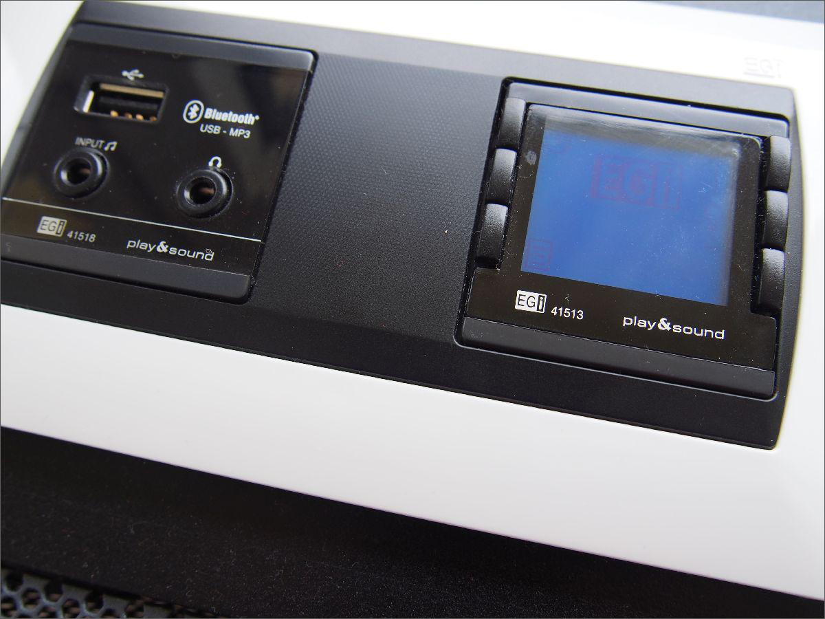 Egi Radio Pod Zabudowę Z Bluetooth Stereo 41020 2x Głośnik